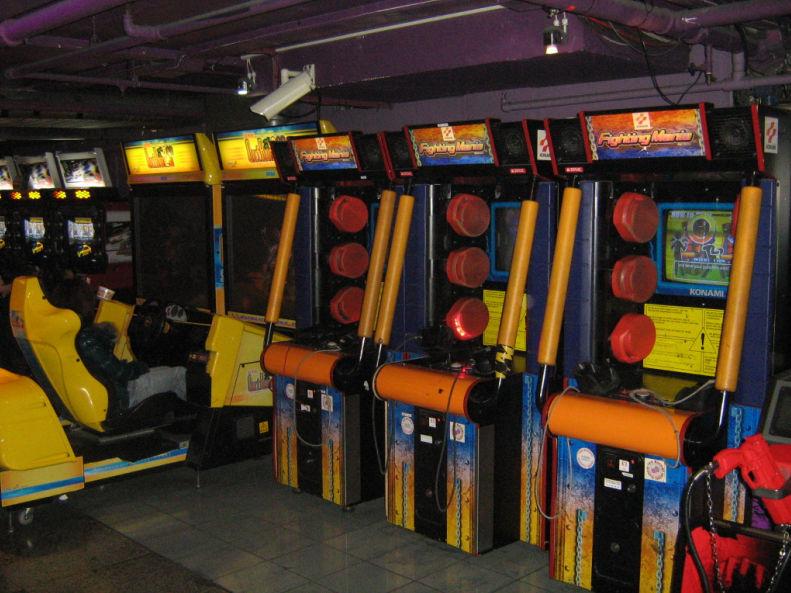 borne arcade hokuto no ken