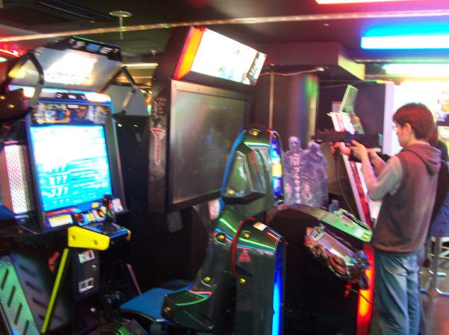 borne arcade house of the dead 4