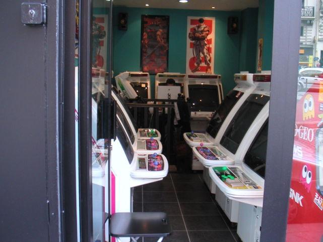 une boutique arcade sur paris page 1 yaronet. Black Bedroom Furniture Sets. Home Design Ideas