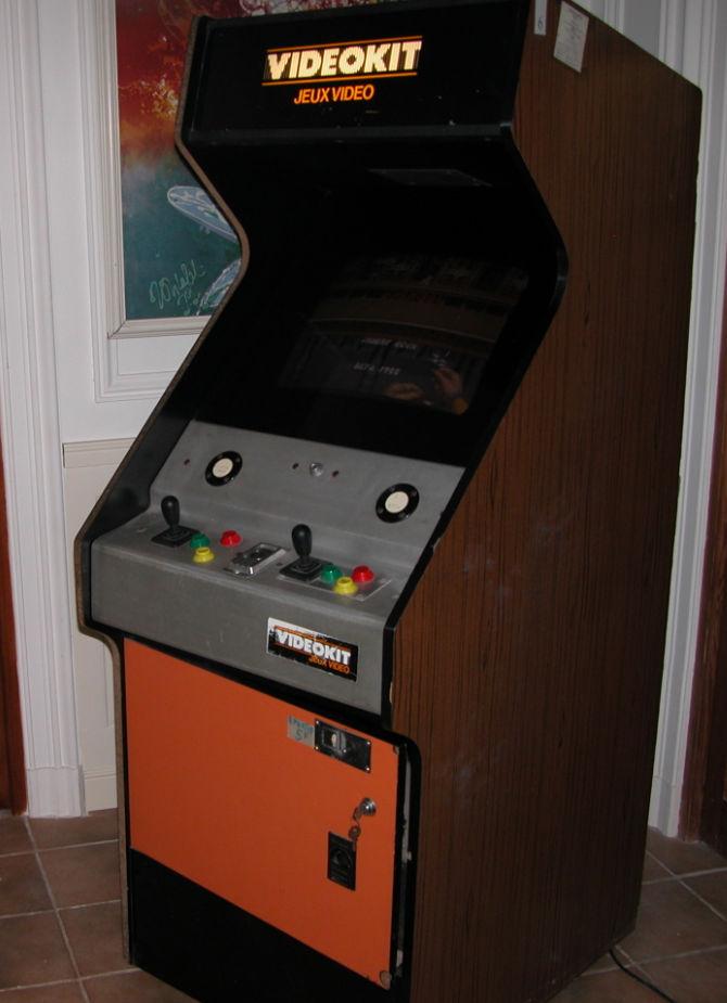 borne arcade videokit