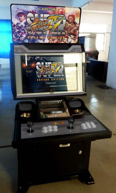 borne arcade ecran 16/9