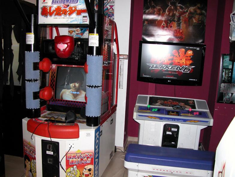 borne arcade king of fighter