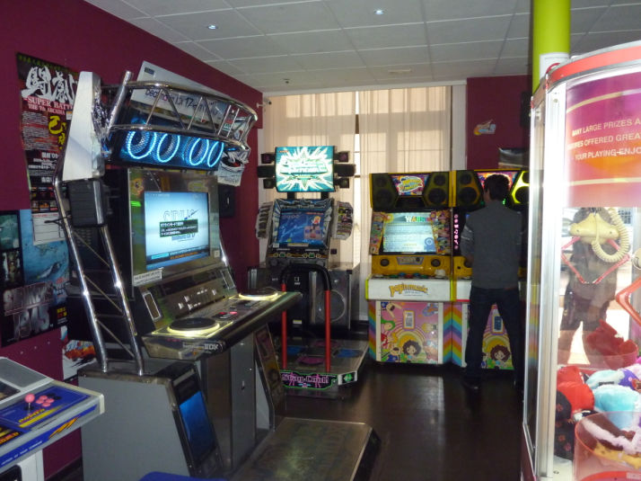 History of Bemani arcades in Europe by machines – Bemani BeNeLux