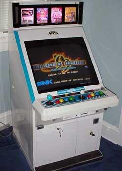 borne arcade mvs