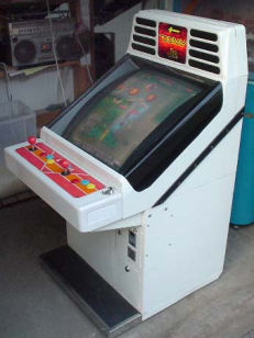 borne arcade konami