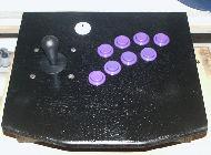 Le joystick arcade américain avec stick poire