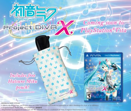 Hatsune Miku Project Diva X PS Vita