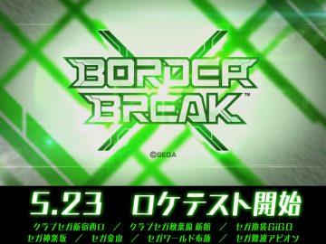 Border Break X Location Test
