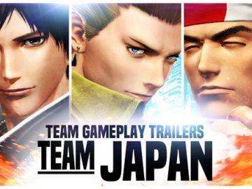 KOF XIV - Team Japan