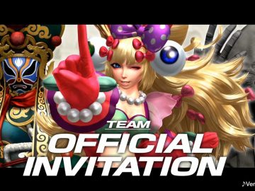 KOF XIV - Team Official Invitation