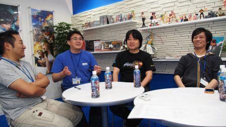 De gauche à droite : Eisuke Ogura, Neo_G, Yasuyuki Oda et Hayato Watanabe