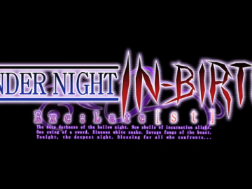 Under Night In Birth Exe Latest Logo