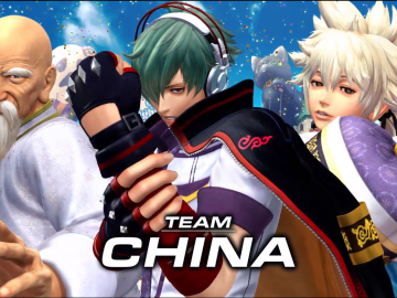KOF XIV - Team China