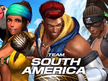 KOF XIV - Team South America